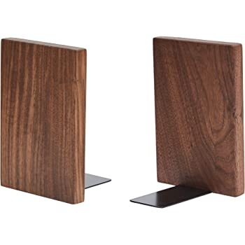 Walnut Muso Wood Wooden Walnut Artist Bookends,6x4