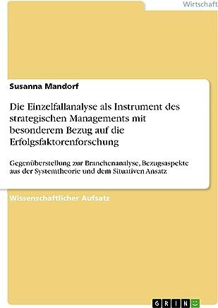 PIMS - Projekt: Schlussfolgerungen für  die strategische Ausrichtung (German Edition)