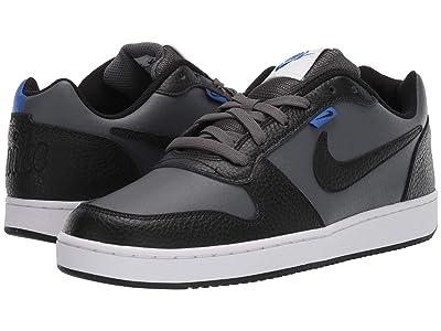Nike Ebernon Low Premium (Dark Grey/Black/Game Royal/White) Men