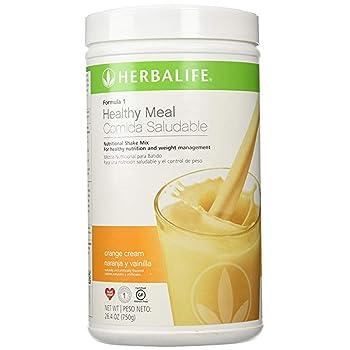 Herbalife Formula 1 Orange Flavor , 750 G .