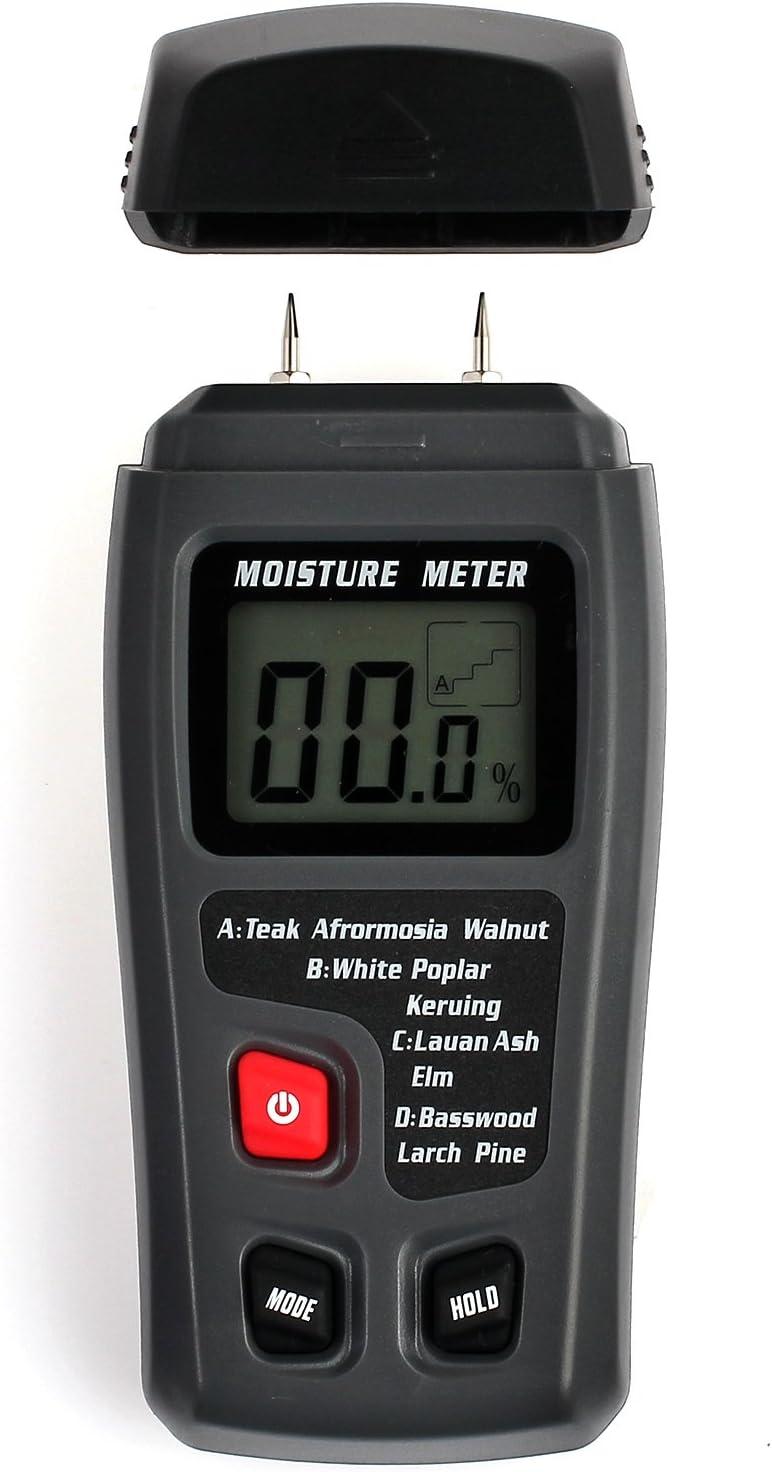 COLFULINE Wood Moisture Meter,Digital Moisture Tester,2 Pin Hand