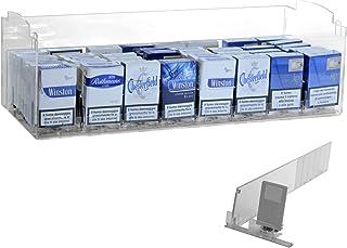 Présentoir de comptoir pour cigarettes (paquet de 20) avec 8 poussoirs tabac