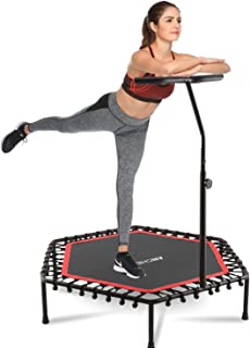 ANCHEER Mini Trampoline Rebounder for Adults Kids Fitness, 50