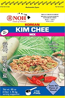 NOH Foods of Hawaii Korean Kim Chee Mix, 3 Pound (Pack of 5)
