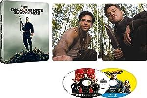 【Amazon.co.jp限定】イングロリアス・バスターズ 4K Ultra HD+ブルーレイ スチールブック仕様[4K ULTRA HD + Blu-ray]