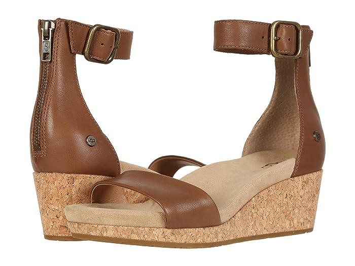 UGG  Zoe II (Chestnut) Womens Sandals