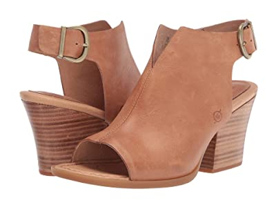 Born Moraine (Tan Full Grain) High Heels