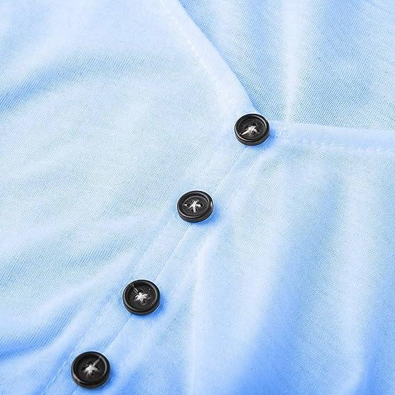Camisas Mujer de Manga Larga Verano Sencillos Blusa Camisa ...