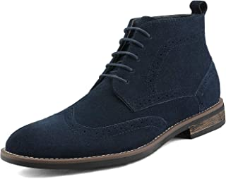 Men's Suede Leather Lace Up Oxfords Chukka Ankle Boots