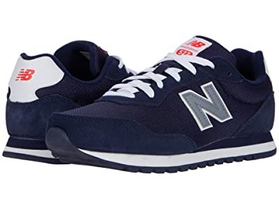 New Balance Kids 527 (Big Kid) (Pigment/Gunmetal) Boy