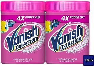 Vanish Oxi Action Quitamanchas lavadora - usar junto