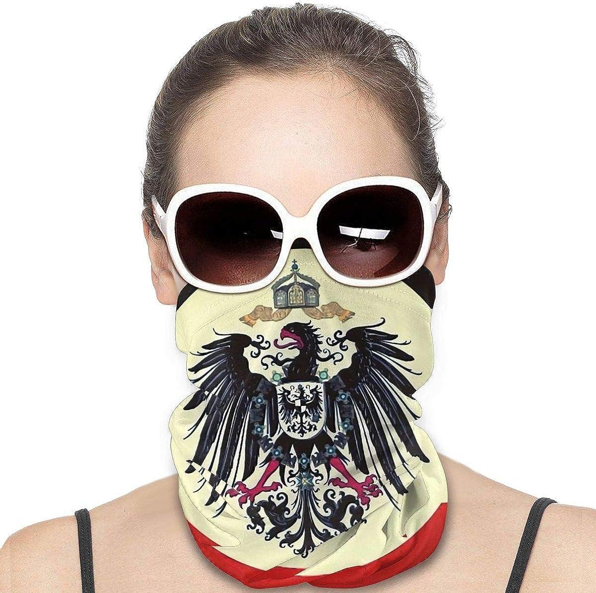 Tidyki Bandana Face Mask - Old German Coat of Arms Bandana Face Mask Neck Gaiter Multifunctional Headwear Head Bands Neck Warmer Men Headwear Face Mask Bandana