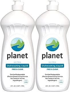 Planet Ultra Dishwashing Liquid - 25 oz - 2 pk