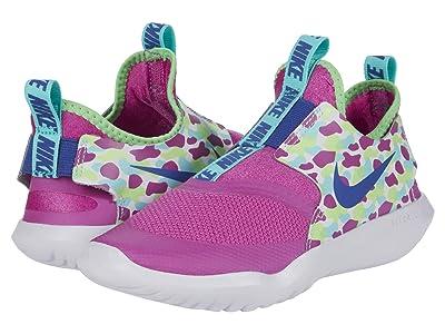 Nike Kids Flex Runner (Little Kid) (Active Fuchsia/Multicolor) Kids Shoes