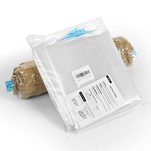 Becko 8 Pieces Travel Roll Up Vacuum Space Saver Bags - 28 x 20 Inches & 24 x 16 Inch