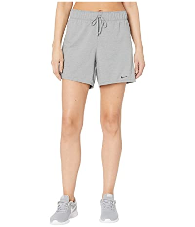 Nike Dry Shorts Attack 2.0 TR 5 (Particle Grey/White/White/Black) Women