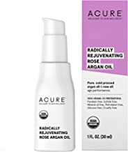 ACURE Radically Rejuvenating Rose Argan Oil | 100% Vegan | Provides Anti-Aging Support | Pure, Cold Pressed & Rich in Vita...