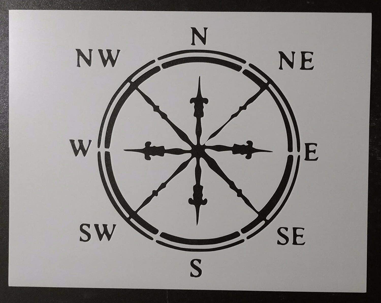 Classic Compass Max 78% OFF Nautical Face 11