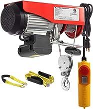 Partsam 1320 lbs Lift Electric Hoist Crane Remote Control Power System, Zinc-Plated Steel..