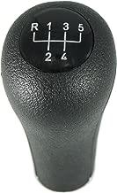 kangbeier For BMW 1 3 5 6 Series X1 X 3 X5 5 Speed Gear Shift Knob Black