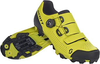 Scott MTB Team Boa fietsschoenen geel/zwart 2021