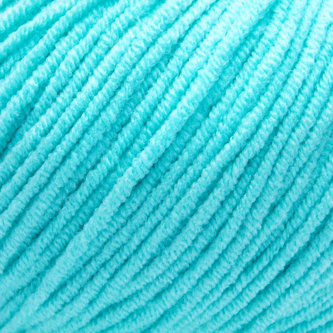 ggh Malibu - 011 - Turquesa - Algodón para tejer y hacer ganchillo: Amazon.es: Hogar