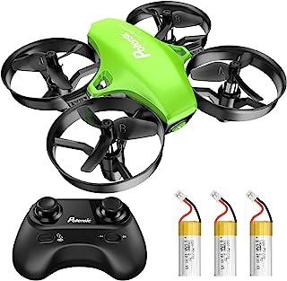 Potensic A20 Mini Drone voor kinderen, met 3 batterijen, Afstandsbediening Quadcopter met, Auto zweven, Headless Mode, Gem...
