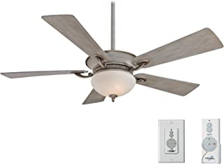 Minka Aire F701-DRF Driftwood Ceiling Fan With Additional Remote Control