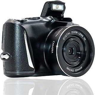 EC Hometec デジタルカメラ デジカメ コンパクトデジカメ カメラ 1080P 2400万画素 8Xズーム 3.5インチLCD コンパクト 連続ショット 携帯便利 充電式 SDカード最大64GB対応 日本語説明書
