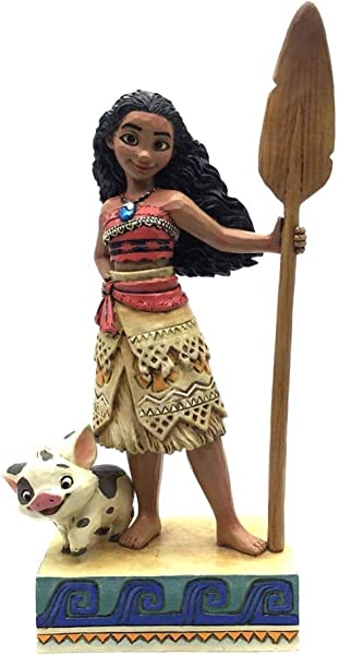 Enesco 4056754 Disney Traditions By Jim Shore Moana Figurine 6 56 Multicolor
