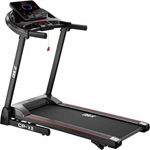 Ober Folding Treadmills for Home with Manual Incline, 2.5HP Portable Electric Foldable Treadmills with Updated Display, 242 lb Bearing Weight Jogging Walking Running Machine for Home Office Use