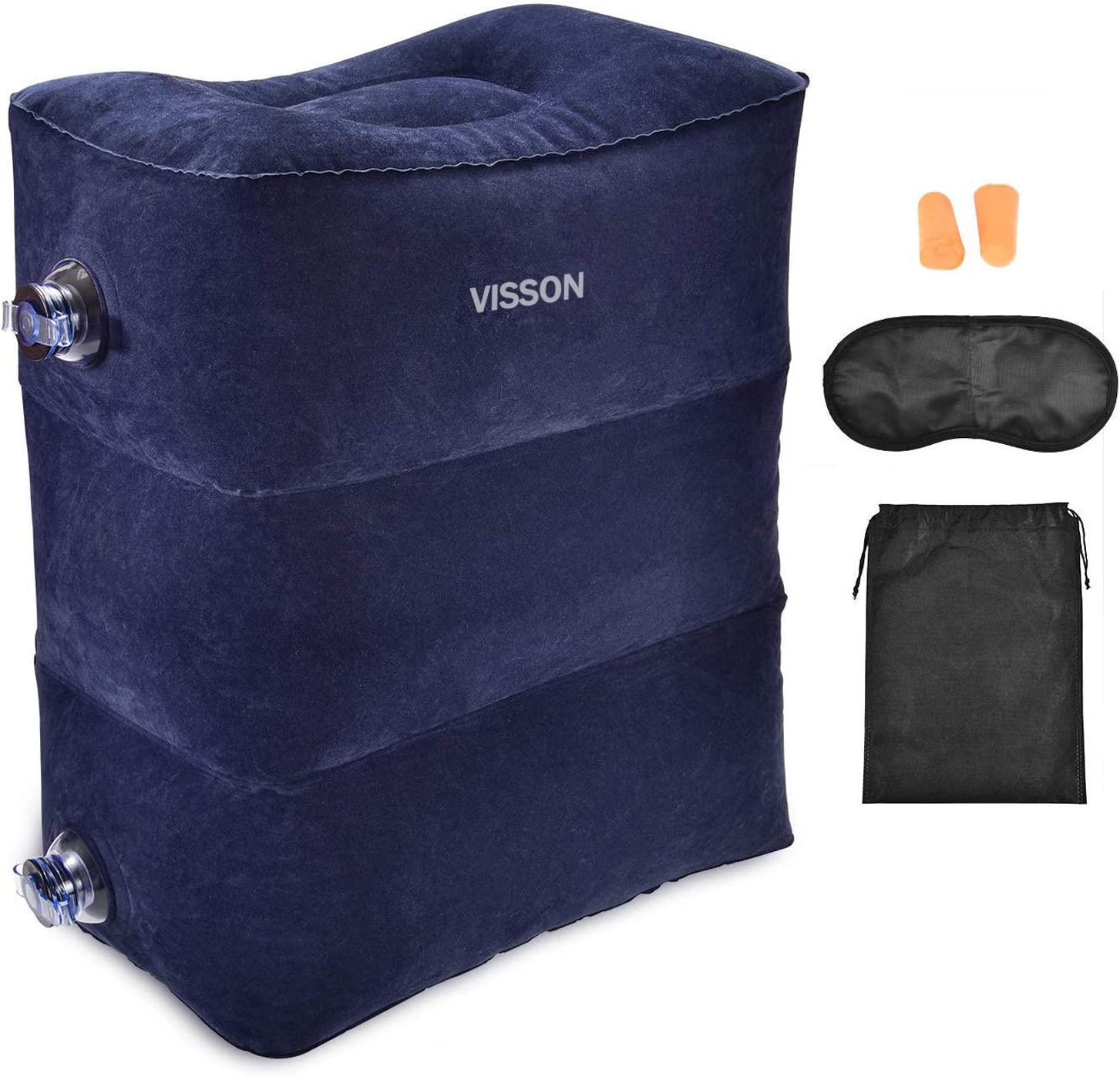 Airplane Footrest - Inflatable Height Pillow Topics on Max 78% OFF TV Adjustable Travel