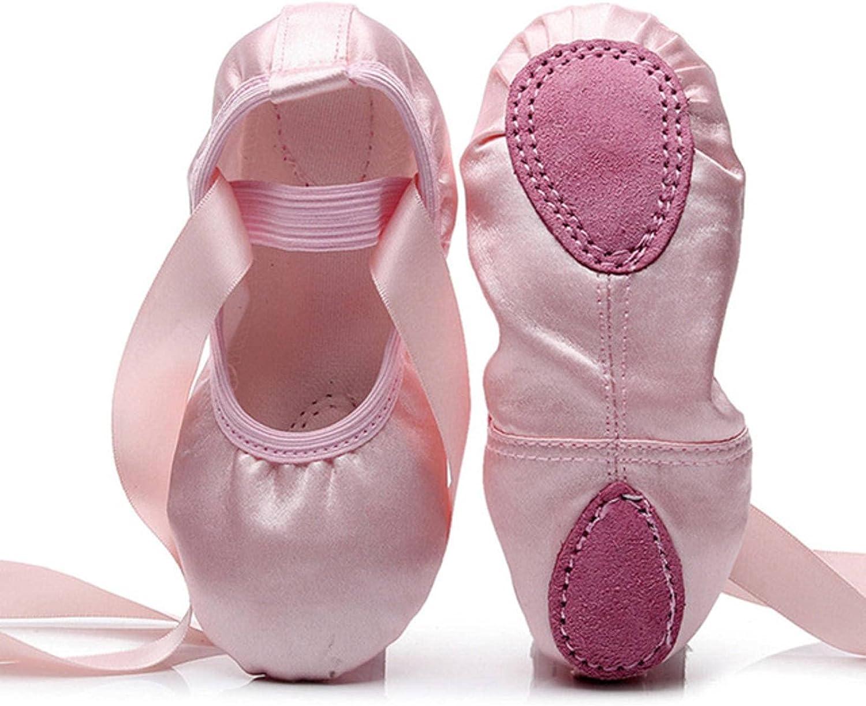 NC Dance Shoes, Flat Yoga Teacher Gymnastic Ballet Dance Shoes Kids Ballet for Girls Women