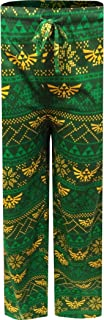MJC Men's The Legend of Zelda Hylian Shield Green Lounge Pants