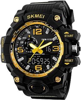 SKMEI LED Military Waterproof Wristwatch Sport Super Men's Quartz Analog Digital Watch Man Sports Watches
