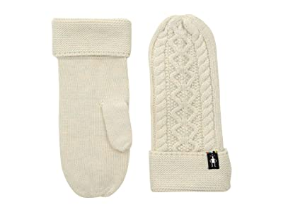 Smartwool Bunny Slope Mitten (Moonbeam Heather) Extreme Cold Weather Gloves