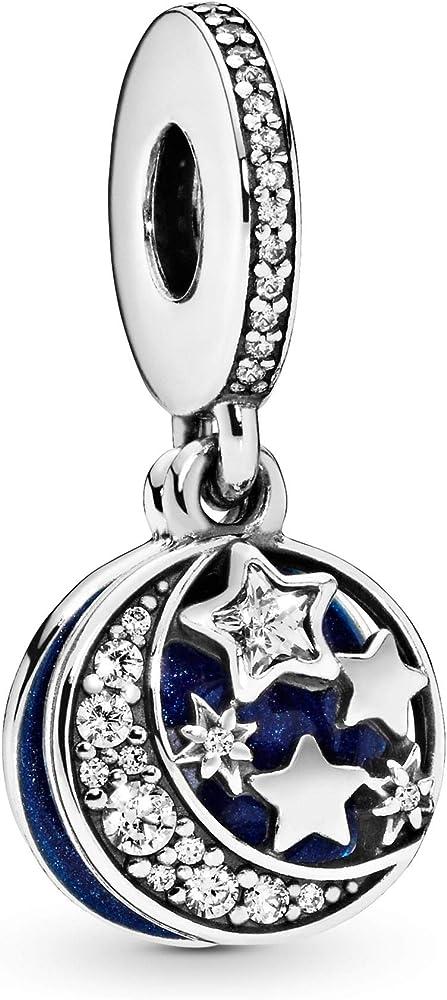 Pandora ciondolo bead charm in argento stearling 925 791993CZ