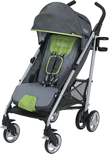 Graco Breaze Lightweight Stroller   Travel Stroller, Lake Green