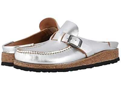 Birkenstock Buckley (Silver Leather) Women