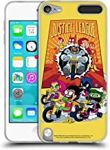 Official Teen Titans Go! to The Movies Justice League 2 Hollywood Graphics Soft Gel Case Compatible for Apple iPod Touch 5G 5th Gen
