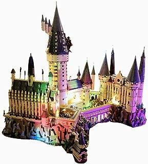 RAVPump Light Set for Harry Potter Hogwarts Castle Blocks Model - LED Light Kit Lighting Kit Compatible with Lego 71043 ( Lego Set not Included )