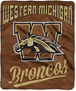 The Northwest Company Western Michigan Broncos Officially Licensed NCAA Alumni 50 x 60 Raschel Throw