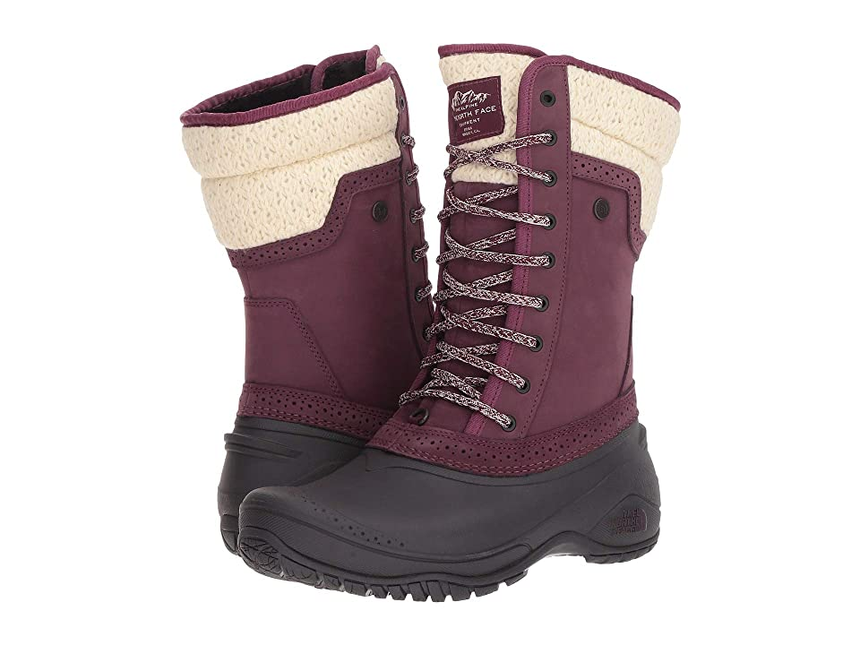 The North Face Shellista II Mid (Fig/Weathered Black) Women