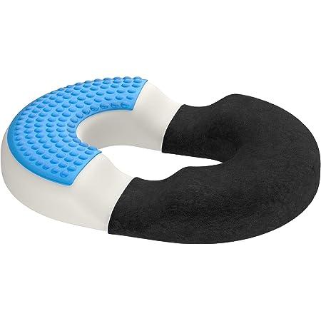 allevia il dolore alla schiena dellanca coccige sciatica per sedia da ufficio sedia a rotelle a forma di U coccige progettato Grneric Hgreat Cuscino per sedile in 100/% puro memory foam