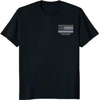 police memorial shirt