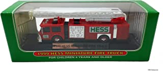 1999 Hess Minature Toy Fire Truck