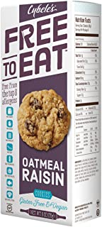 Cybele's Free to Eat, Oatmeal Raisin, 6 oz Box
