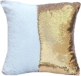 Best white sequin pillow Reviews