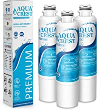AQUACREST DA29-00020B Refrigerator Water Filter, NSF 53&42 Certified to Reduce 99% of Lead, Cyst & More, Compatible with Samsung DA29-00020B, DA29-00020A, DA97-08006A, HAF-CIN/EXP, 46-9101 (Pack of 3)