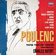 Poulenc Orchestral Choral Works